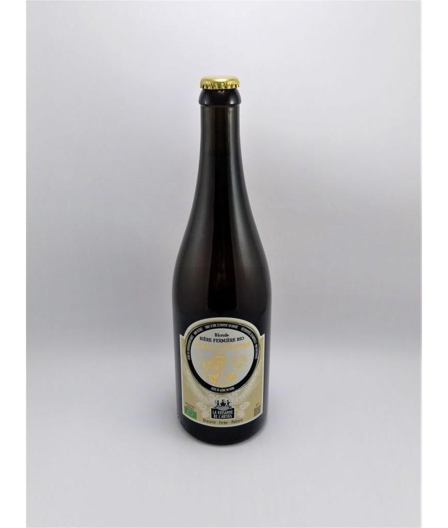 """Bière fermière bio """"l'écu d'Arras"""""""