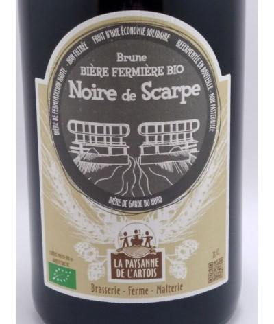 """Bière fermière bio """"Noire de Scarpe"""""""