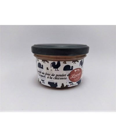 Confit de foie de poulet de Licques à la Chicorée