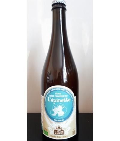 """Bière Bio """"l'épinette - Brasserie Paysanne de l'Artois"""